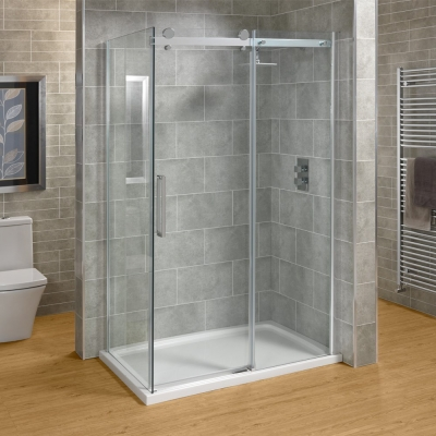 Phòng tắm kính cường lực